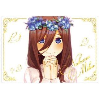 五等分の花嫁∬ ウエハース [20.ビジュアルカード3:中野三玖]【ネコポス配送対応】【C】※カードのみ