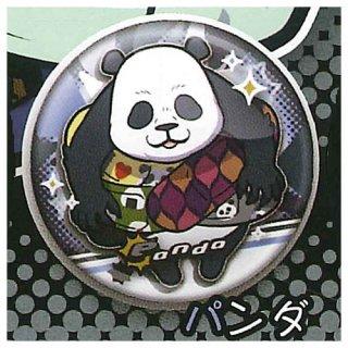 呪術廻戦 キャラばんちょうこう缶バッジ [6.パンダ]【ネコポス配送対応】【C】