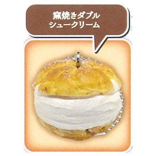 不二家ケーキ 樹脂粘土マスコットコレクション vol.2 [5.窯焼きダブルシュークリーム]【ネコポス配送対応】【C】