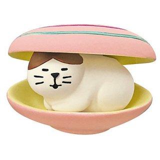 【ハマグリ猫 (ZSV-79703)】 DECOLE concombre デコレ コンコンブル 貝猫 kaineco 【 ネコポス不可 】【C】