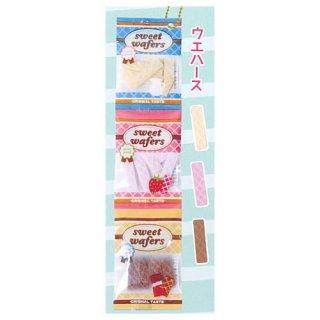 3連お菓子マスコットBC2 [1.ウエハース]【ネコポス配送対応】【C】