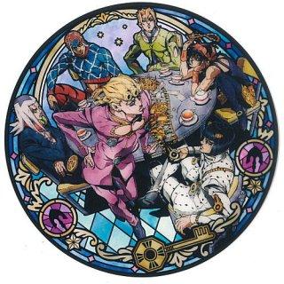 ディスクART ジョジョの奇妙な冒険 黄金の風 [10.ブチャラティチーム]【ネコポス配送対応】【C】