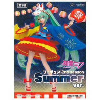 初音ミク フィギュア 2nd season Summer ver. 【 ネコポス不可 】