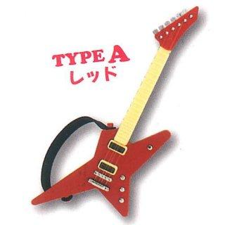 ミニチュアギターマスコット3 [1.TYPE A レッド]【ネコポス配送対応】【C】