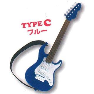 ミニチュアギターマスコット3 [3.TYPE C ブルー]【ネコポス配送対応】【C】