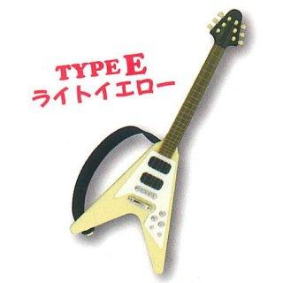 ミニチュアギターマスコット3 [5.TYPE E ライトイエロー]【ネコポス配送対応】【C】
