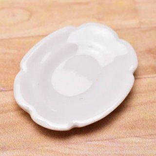 ミニチュアパーツ 陶器 Mサイズ [MPLP2] (セラミックプレート/カラー:ホワイト) [m-s][imp] 【ネコポス配送対応】【C】