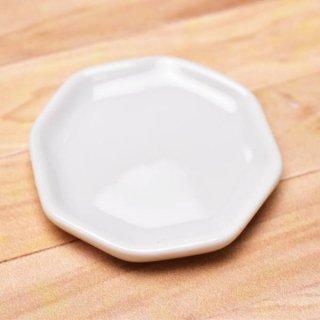 ミニチュアパーツ 陶器 Mサイズ [MPLP4] (セラミックプレート/カラー:ホワイト) [m-s][imp] 【ネコポス配送対応】【C】