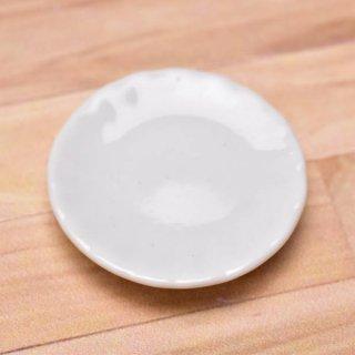 ミニチュアパーツ 陶器 Mサイズ [MPLP8] (セラミックプレート/カラー:ホワイト) [m-s][imp] 【ネコポス配送対応】【C】