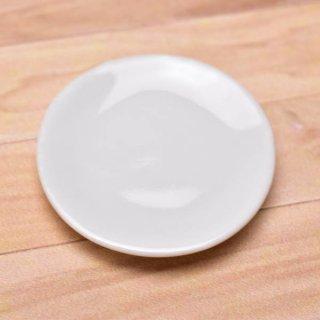 ミニチュアパーツ 陶器 Mサイズ [MPLP10] (セラミックプレート/カラー:ホワイト) [m-s][imp] 【ネコポス配送対応】【C】