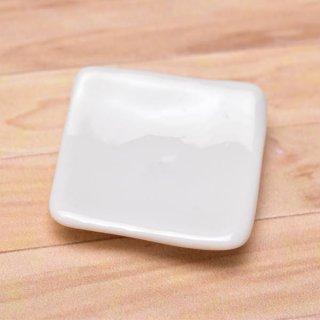 ミニチュアパーツ 陶器 Mサイズ [MPLP11] (セラミックプレート/カラー:ホワイト) [m-s][imp] 【ネコポス配送対応】【C】