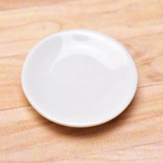 ミニチュアパーツ 陶器 Mサイズ [MPLP14] (セラミックプレート/カラー:ホワイト) [m-s][imp] 【ネコポス配送対応】【C】