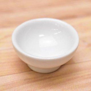 ミニチュアパーツ 陶器 Mサイズ [MPLP17] (セラミックボウル/カラー:ホワイト) [m-s][imp] 【ネコポス配送対応】【C】
