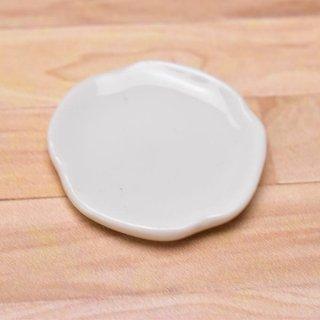 ミニチュアパーツ 陶器 Mサイズ [MPLP19] (セラミックプレート/カラー:ホワイト) [m-s][imp] 【ネコポス配送対応】【C】