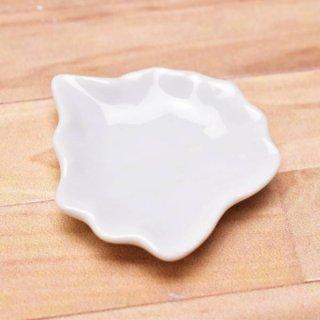 ミニチュアパーツ 陶器 Mサイズ [MPLP20] (セラミックプレート/カラー:ホワイト) [m-s][imp] 【ネコポス配送対応】【C】