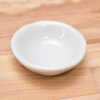 ミニチュアパーツ 陶器 Mサイズ [MPLP24] (セラミックボウル/カラー:ホワイト) [m-s][imp] 【ネコポス配送対応】【C】
