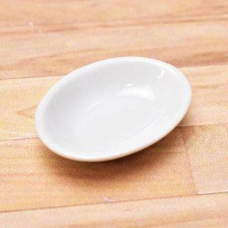 ミニチュアパーツ 陶器 Mサイズ [MPLP28] (セラミックボウル/カラー:ホワイト) [m-s][imp] 【ネコポス配送対応】【C】