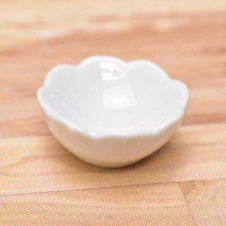 ミニチュアパーツ 陶器 Mサイズ [MPLP30] (セラミックボウル/カラー:ホワイト) [m-s][imp] 【ネコポス配送対応】【C】