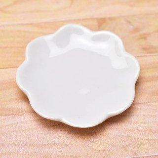 ミニチュアパーツ 陶器 Mサイズ [MPLP38] (セラミックプレート/カラー:ホワイト) [m-s][imp] 【ネコポス配送対応】【C】
