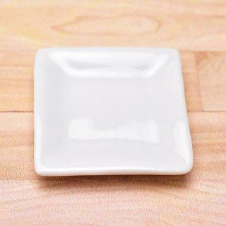ミニチュアパーツ 陶器 Mサイズ [MPLP40] (セラミックプレート/カラー:ホワイト) [m-s][imp] 【ネコポス配送対応】【C】