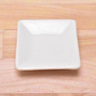 ミニチュアパーツ 陶器 Mサイズ [MPLP48] (セラミックプレート/カラー:ホワイト) [m-s][imp] 【ネコポス配送対応】【C】