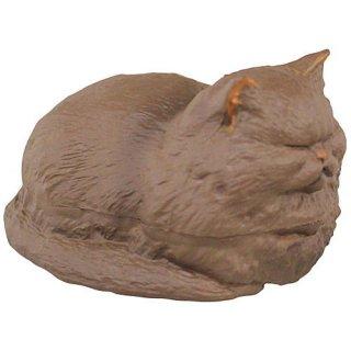 香箱座りの猫の小箱 その2 [2.ペルシャ(ブラック)]【 ネコポス不可 】【C】