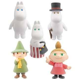 ムーミン MOOMIN Doll Collection [アソート5種セット(1.ムーミン/3.ムーミンパパ/4.ムーミンママ/5.スナフキン/6.リトルミイ)]【 ネコポス不可 】【C】