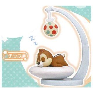 ディズニーキャラクター パステルスリーピーフィギュア [3.チップ]【ネコポス配送対応】【C】