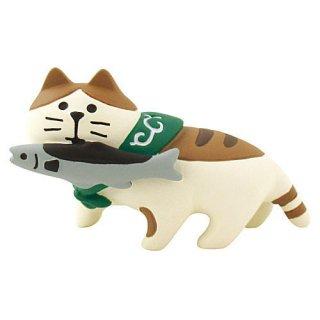 【秋刀魚猫 (ZTM-43580)】 DECOLE concombre デコレ コンコンブル お月見 竹の湯温泉 月夜のおもてなし 【 ネコポス不可 】【C】