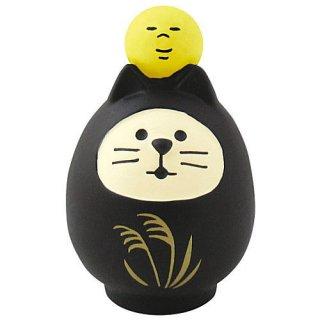 【お月見猫だるま (ZTM-43581)】 DECOLE concombre デコレ コンコンブル お月見 竹の湯温泉 月夜のおもてなし 【 ネコポス不可 】【C】