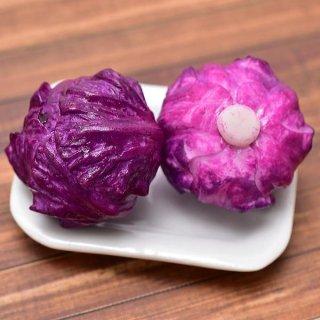 ミニチュアフード 野菜シリーズ 紫キャベツ 2個セット [SMLVEG14] [品番:35758] [m-s][imp]【ネコポス配送対応】【C】