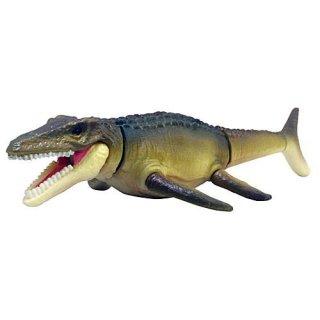 ガチャアクション THE恐竜 海の捕食者 [3.モササウルス(ブラウン)]【 ネコポス不可 】【C】