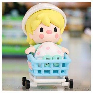 POPMART Sweet Bean スーパーマーケットシリーズ [シークレット:ショッピングカートベイビー]【 ネコポス不可 】