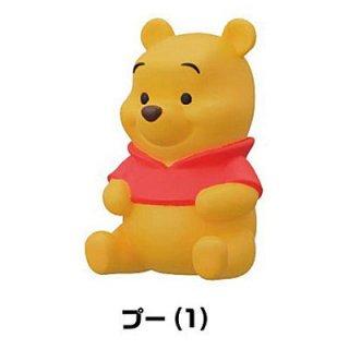 くまのプーさん ソフビパペットマスコット(再販) [1.プー(1)]【 ネコポス不可 】【C】