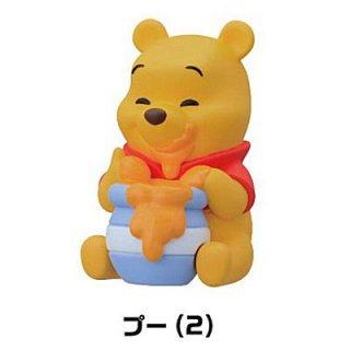くまのプーさん ソフビパペットマスコット(再販) [2.プー(2)]【 ネコポス不可 】【C】