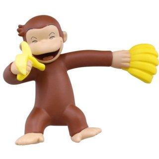 おさるのジョージ バナナ大好き!フィギュア [1.寝そべり]【ネコポス配送対応】【C】