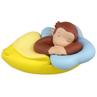 おさるのジョージ バナナ大好き!フィギュア [2.バナナベッド]【 ネコポス不可 】【C】