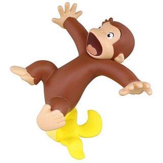 おさるのジョージ バナナ大好き!フィギュア [4.すってんころりん]【ネコポス配送対応】【C】