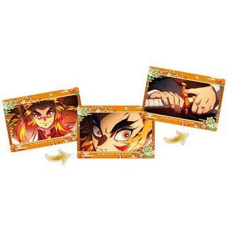 劇場版「鬼滅の刃」無限列車編 名場面回顧カードチョコスナック3 [2.煉獄杏寿郎 II]【ネコポス配送対応】【C】