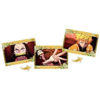 劇場版「鬼滅の刃」無限列車編 名場面回顧カードチョコスナック3 [9.我妻善逸]【ネコポス配送対応】【C】