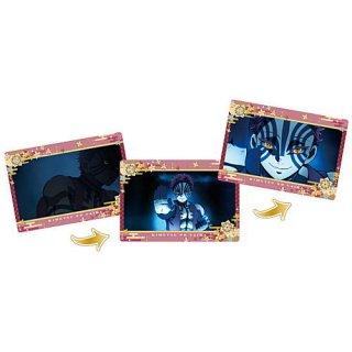 劇場版「鬼滅の刃」無限列車編 名場面回顧カードチョコスナック3 [11.猗窩座]【ネコポス配送対応】【C】