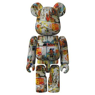 BE@RBRICK SERIES 42 (ベアブリック シリーズ42) [10.ARTIST (Andy Warhol / Jean-Michel Basquiat)]【 ネコポス不可 】【C】