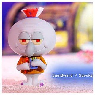POPMART LABUBU ザ・モンスターズ×スポンジ・ボブ シリーズ [9.Squidward×Spooky]【 ネコポス不可 】