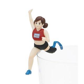 コップのフチ子 スポーツ [3.幅跳びのフチ子]【ネコポス配送対応】【C】