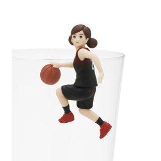 コップのフチ子 スポーツ [4.バスケのフチ子]【ネコポス配送対応】【C】