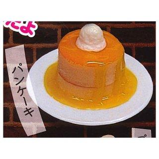 ぷちメニュー 喫茶店 キーホルダー [4.パンケーキ]【 ネコポス不可 】【C】