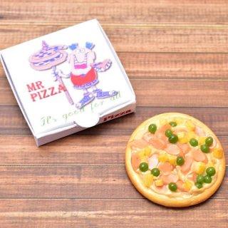 ミニチュアフード 箱付きピザシリーズ(4) [PZ4] [m-s] 1/12スケール【ネコポス配送対応】【C】