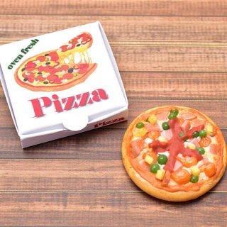 ミニチュアフード 箱付きピザシリーズ(5) [PZ5] [m-s] 1/12スケール【ネコポス配送対応】【C】