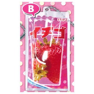 懐かしの粉ジュース W.BマスコットBC [2.イチゴ]【ネコポス配送対応】【C】