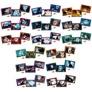 【全部揃ってます!!】呪術廻戦 PLAY BACKカードチョコスナック [全15種セット(フルコンプ)]【ネコポス配送対応】【C】